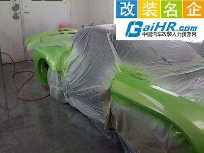 新北区春江张先生汽车美容养护中心工作环境
